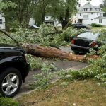 What to do with a damaged car after a hurricane